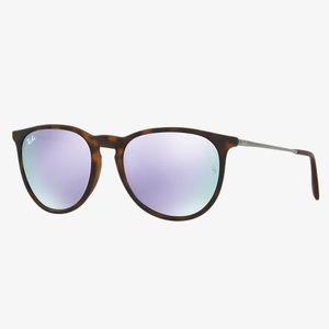 RAY-BAN RB3539 Erika Unisex Metal Sunglasses